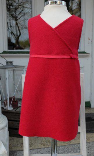 Trägerkleid aus Walkloden für Kinder