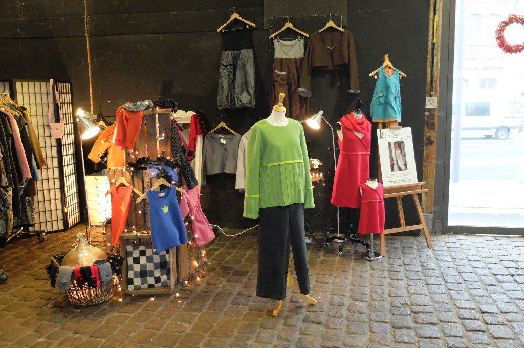 Kunsthandwerkermarkt Lübeck Stand Elke Penther Design
